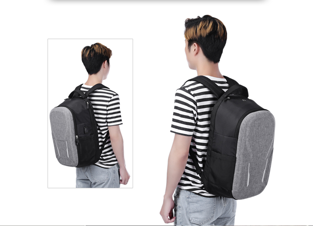 Laptop Backpack Unisex Capacity Computer Bag Travel College School Bookbag