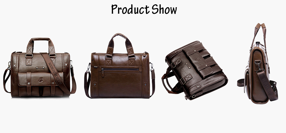 1041 - 4 Men Fashionable Water Resistance Shoulder Bag