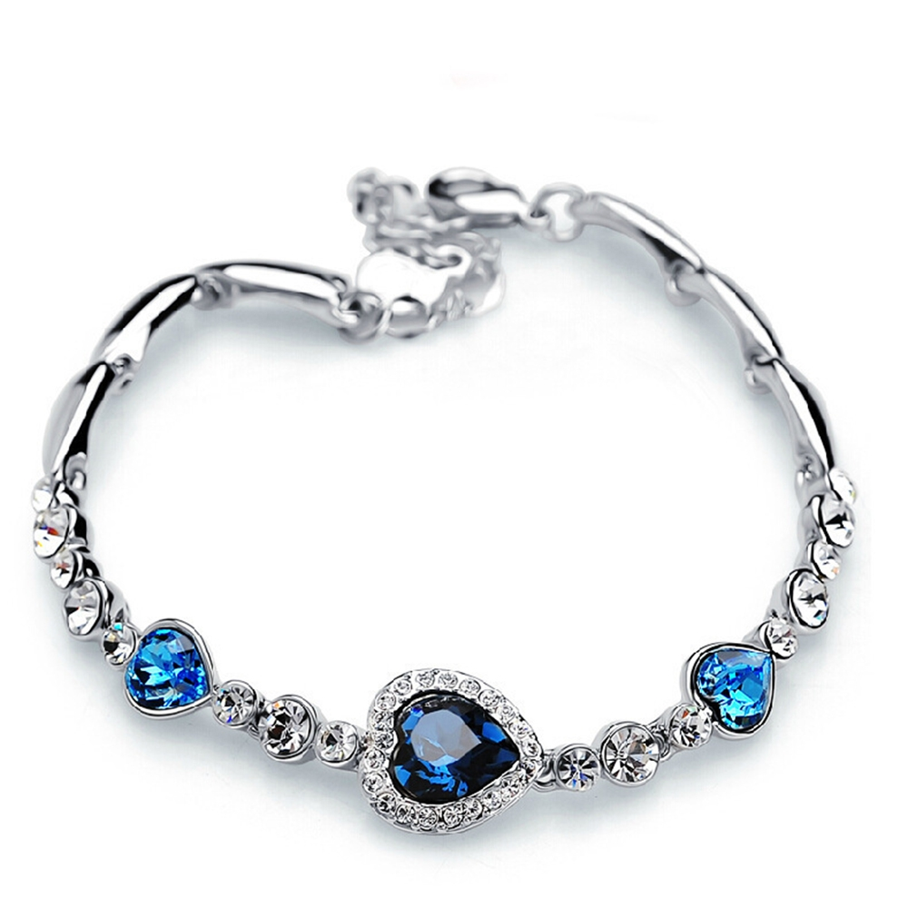 <span>for love</span>Zircon Crystal Bracelet